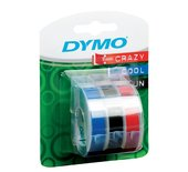 LETTERTAPE DYMO ROL 9MMX3M ASS
